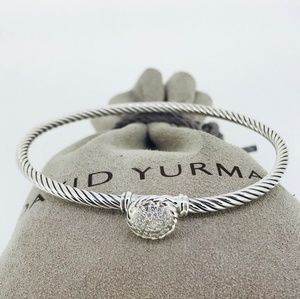 David Yurman Petite Pave Bracelet with Diamonds